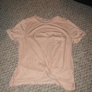 Pink pocket shirt